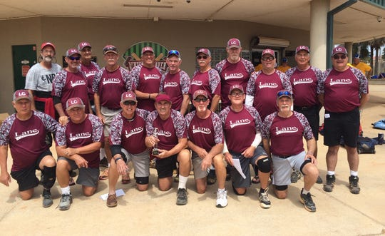 The Lane Construction 70 Team won its age group at the Spring Nationals Senior Tournament this past weekend in Winter Haven.