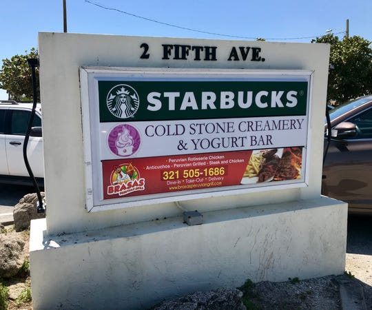 Starbucks in Indialantic.
