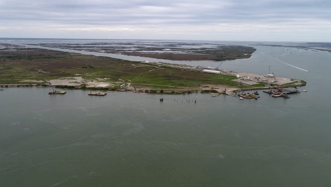 The Port of Corpus Christi has proposed a multi-billion dollar project for an oil terminal on Harbor Island.