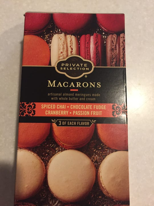 frozen macarons from Kroger