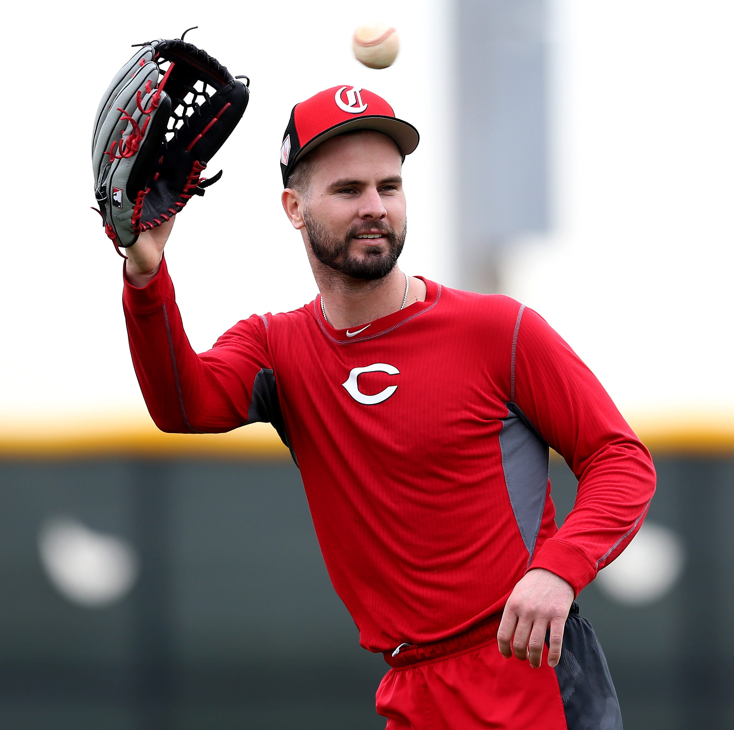 Making start in center, Cincinnati Reds' Jesse Winker eager to shed his bad defender label
