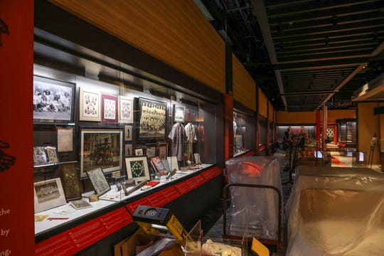 The Reds Hall of Fame museum is being renovated and planning to open Friday March, 29. The museum has about 7,000 items in the collection, with 5,500 baseball cards. About 2/3 of the collection will be displayed at the museum. The renovations cost $5.5 million, and construction started in November.