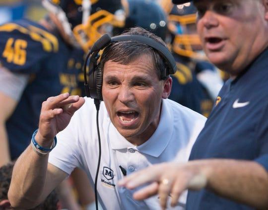 Todd Naumann was named Moeller's seventh football coach Tuesday