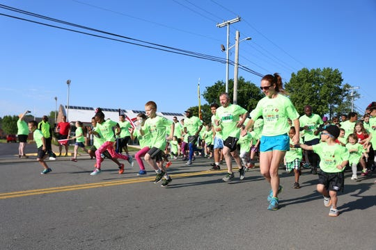 Registrants can choose to participate in either the one-mile event at 8:30 a.m. or the 5K beginning at 8:45 a.m on Saturday, April 27, one week earlier than previous year's races.