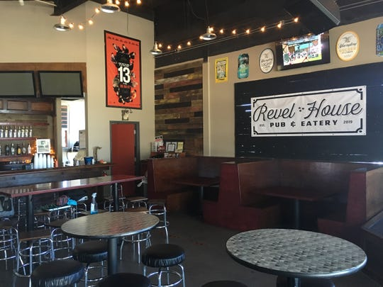 Revel House Pub and Eatery is at 132 University Ave. in downtown Clarksville.