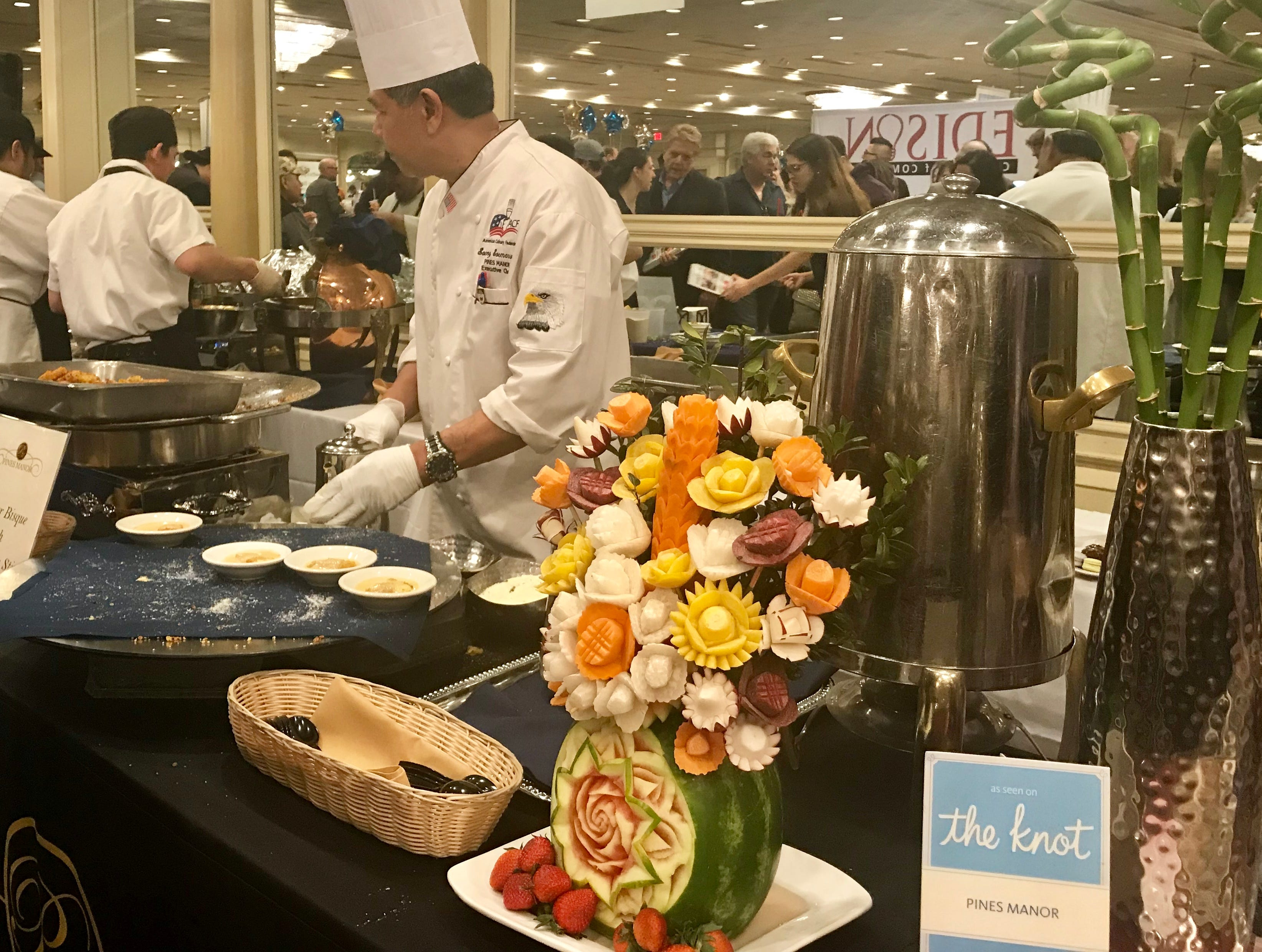 The Edison Chamber of Commerce and The Pines Manor co-hosted the 22nd Annual Taste of Middlesex on Monday, March 25.