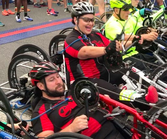 Maria and Pete, a documentary about a power couple crossing the finish line after an impossible journey, will be screened April 3 at Birnbaum Jewish Community Center's ReelAbilities Film Festival New Jersey, the nation's largest film fest focused on disabilities.