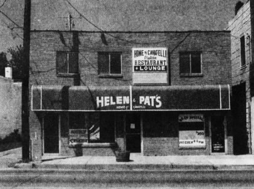 The original Helen & Pat's location on Euclid Avenue, was known throughout the metro for its iconic cavatelli.