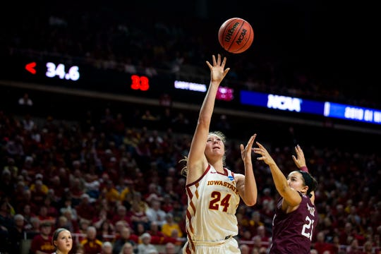 Iowa State's Ashley Joens was named an alternate for the 2019 USA Women's U19 World Cup Team.