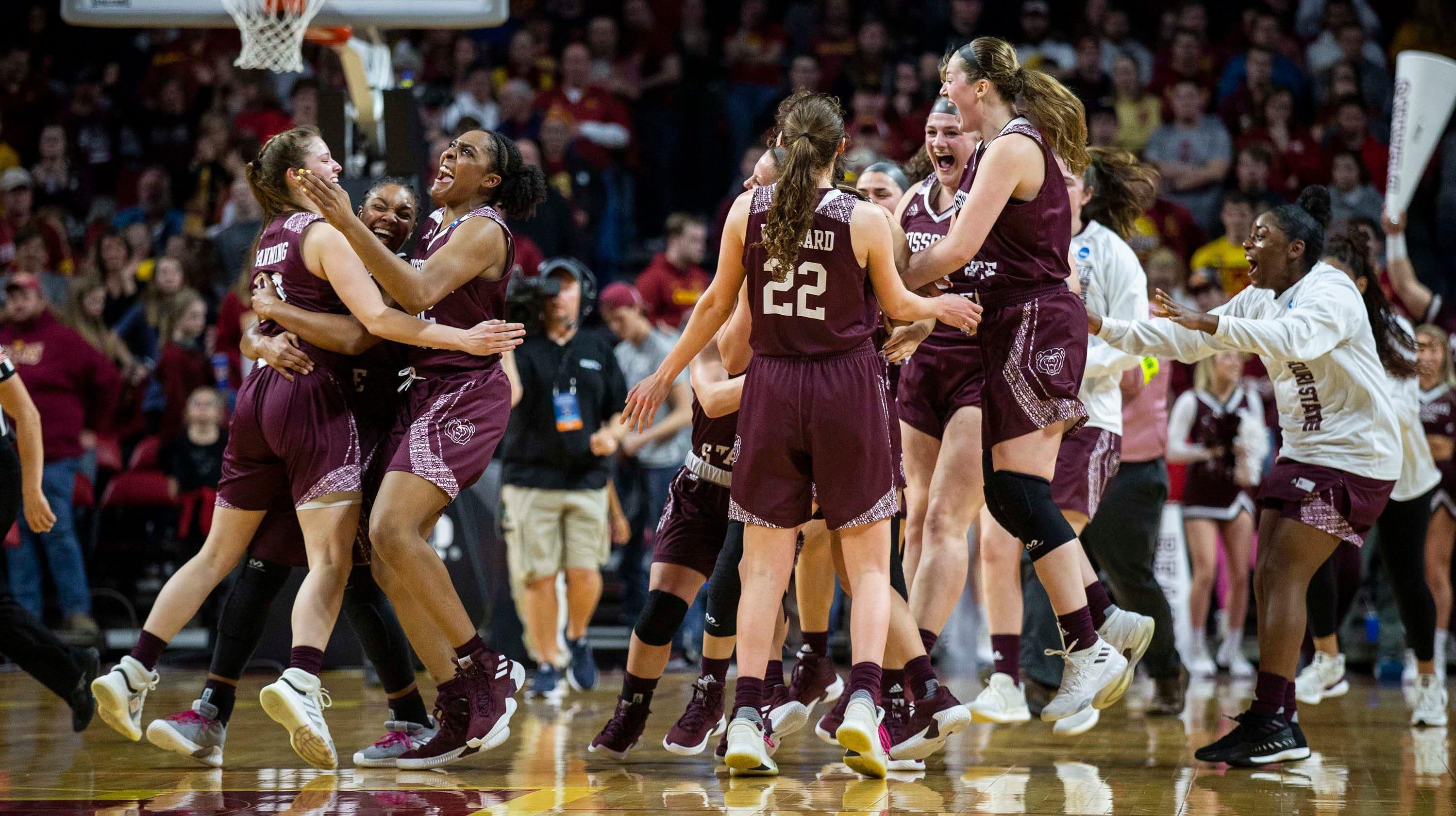 Image result for missouri state women's basketball