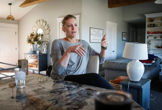 Sarah Lundin, a mother and OBGYN surgeon from Denison, talks about a suit she filed against a local day care center that she says subjected her two sons to abuse during their stay there.
