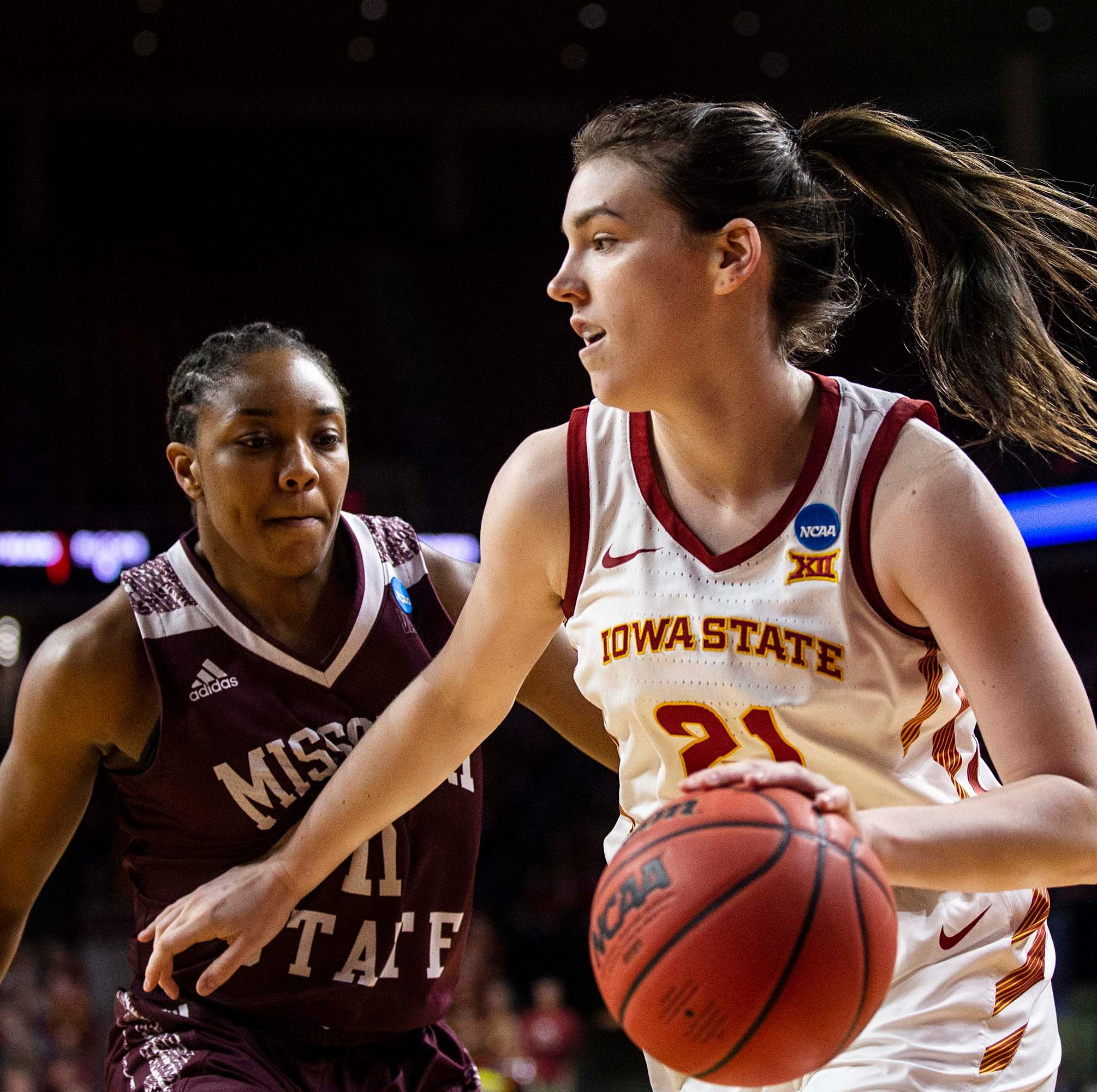 How Iowa State star Bridget Carleton landed on the radar of WNBA teams