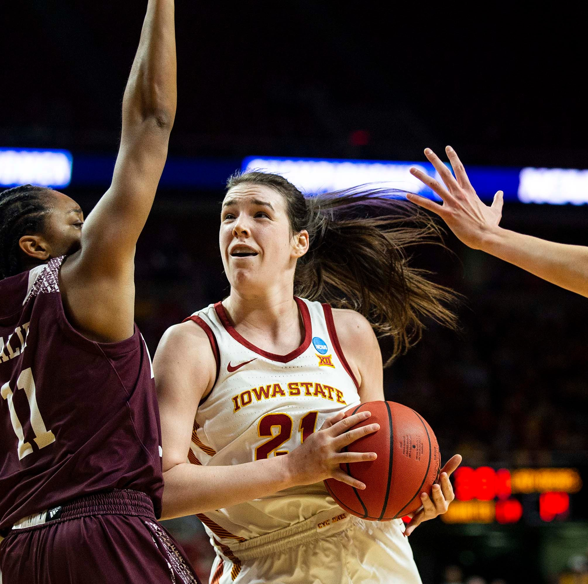 'Playing in Hilton is unreal': Bridget Carleton solidifies her legacy at Iowa State