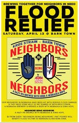 "Iowa's Barn Town Brewing and Nebraska's Kros Strain Brewing are teaming up to brew a ""Neighbors Being Neighbors"" IPA. Part of the proceeds will help flood relief efforts in both states."