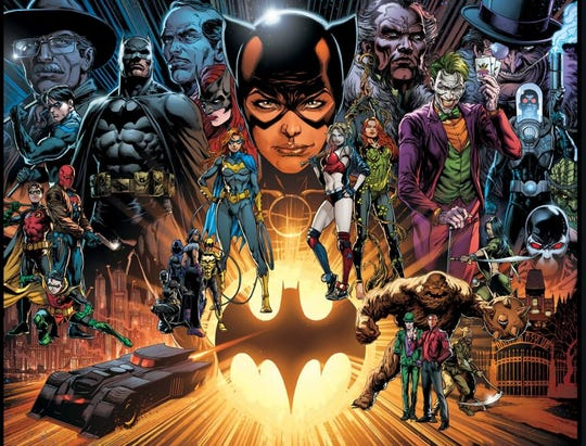 More than 25 writers and artists contributed to Detective Comics No. 1,000, celebrating Batman's 80th year.