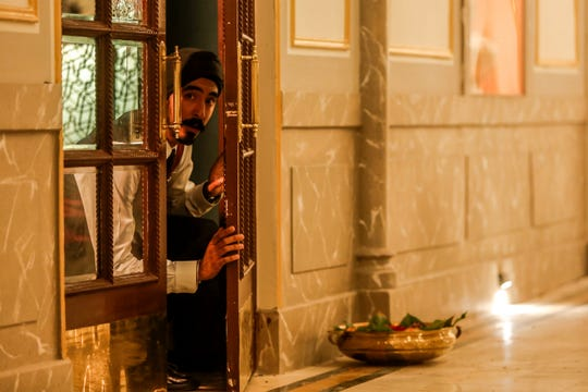 "Dev Patel in ""Hotel Mumbai."""