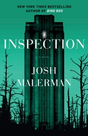 The cover of 'Inspection,' a 2019 psychological horror  novel by Josh Malerman.
