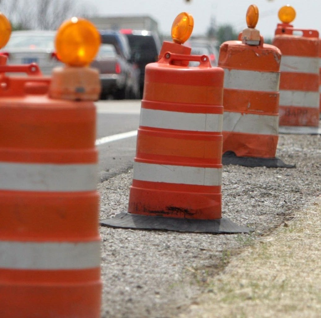 Telegraph Road in Bloomfield Township under construction until July