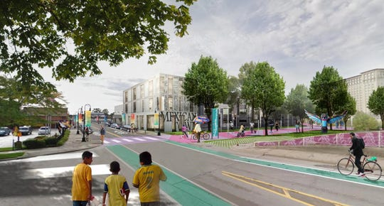 City officials say the plan for the vacant land at Bagley and 16th is to bring affordable housing and retail to the area and strengthen the connection between neighborhoods