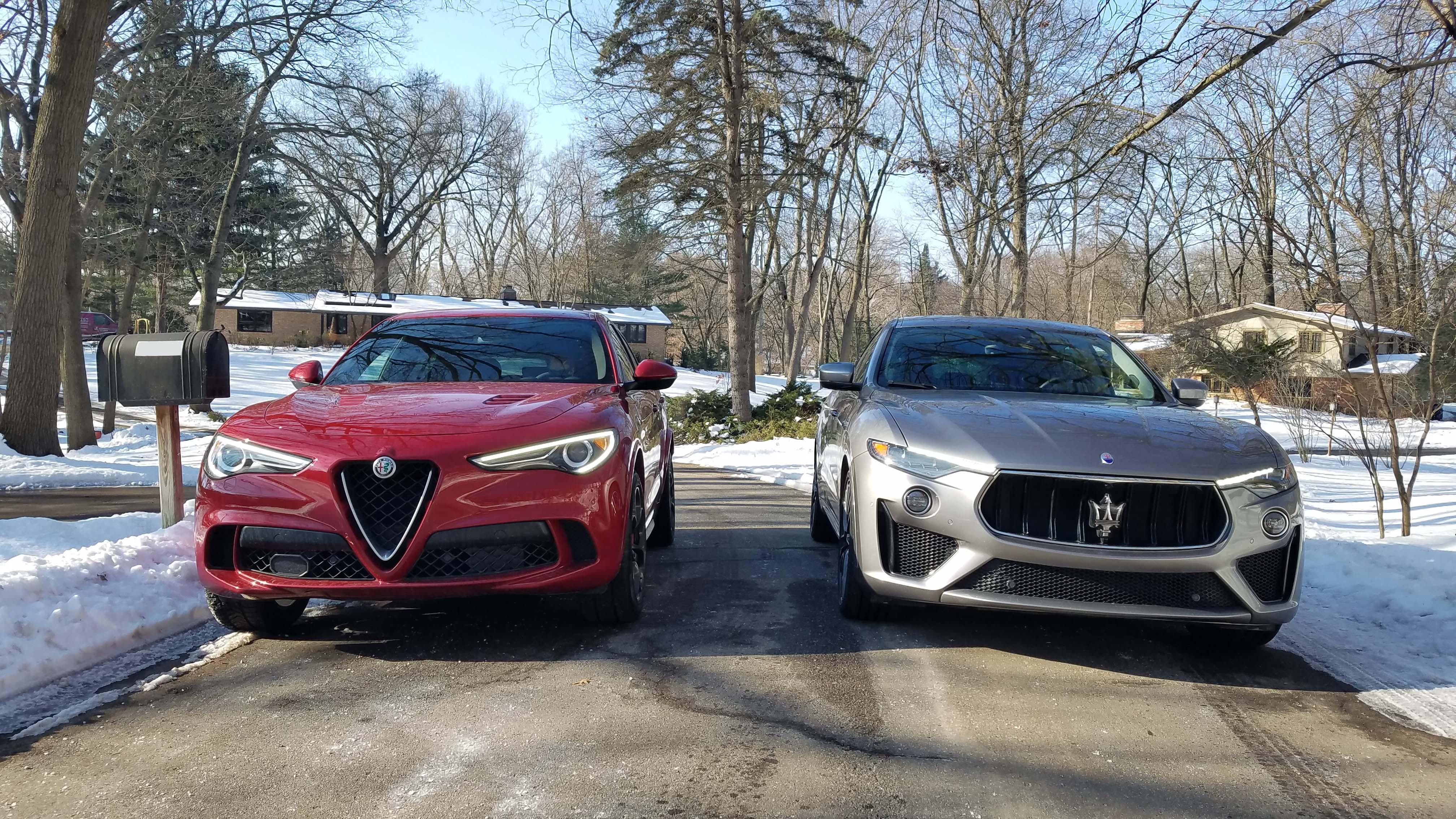 Payne Which Suv Is More Italian Maserati Levante Vs Alfa Stelvio