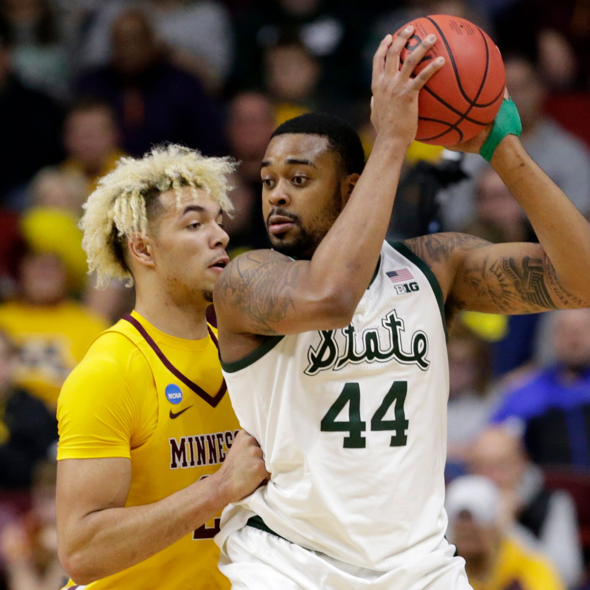 Michigan State teammates help get Nick Ward refocused, back on right track