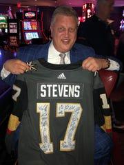 Las Vegas casino magnate Derek Stevens.