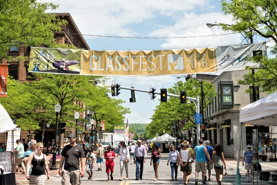 GlassFest is one of many activities organized by Corning's Gaffer District to draw people to downtown Corning.