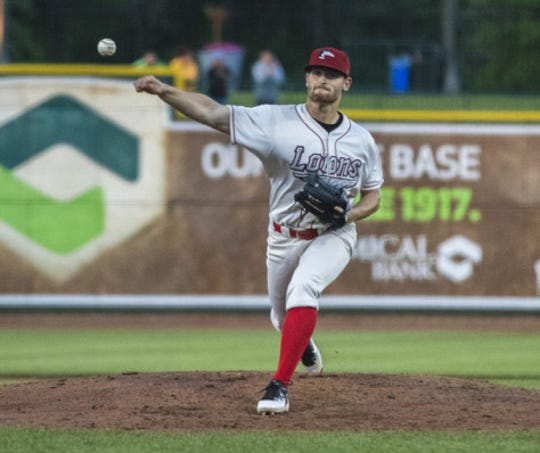 Former University of Evansville pitcher Connor Strain struck out 8.8 batters per nine innings last year between two levels.