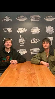 Travis Worth and Trevor Lindgren of local band Northsoul will perform at the Military Road McDonald's in Fond du Lac.