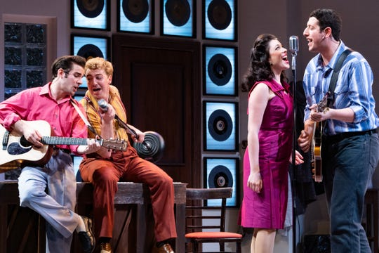 "A scene from Florida Repertory Theatre's ""Million Dollar Quartet"""