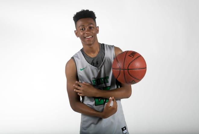 Javian McCollum, Fort Myers, basketball, Winter All-Area athletes 2019
