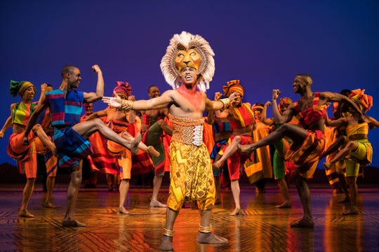 "Jared Dixon stars as Simba in the national tour of ""The Lion King."""