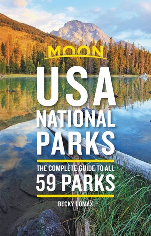 """USA National Parks: The Complete Guide to All 59 Parks"" by Becky Lomax"