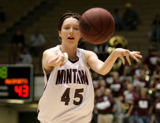 Former Great Falls High star Lauren Beck had a fine career with the Montana Lady Griz.