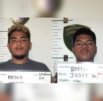Two men accused of burglarizing, trespassing at Southern High School