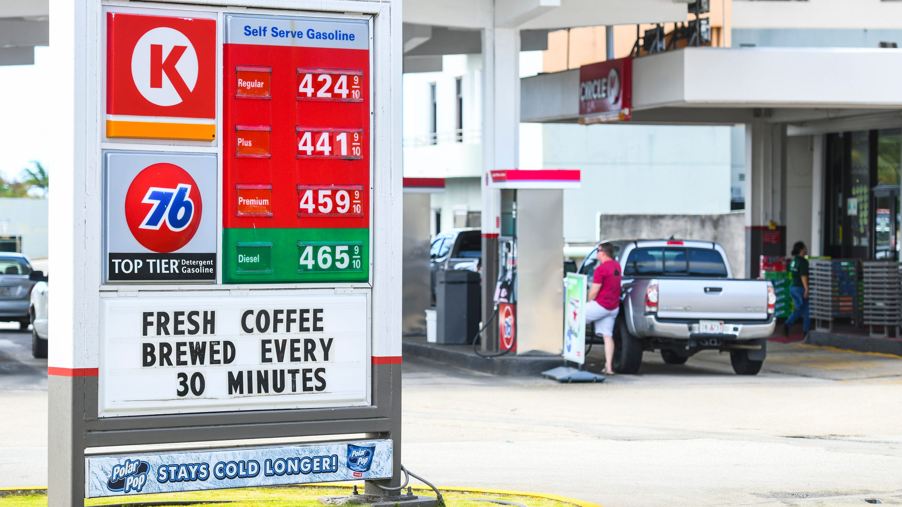Circle K Gas Prices >> Gas prices increased to $4.25 per gallon Tuesday