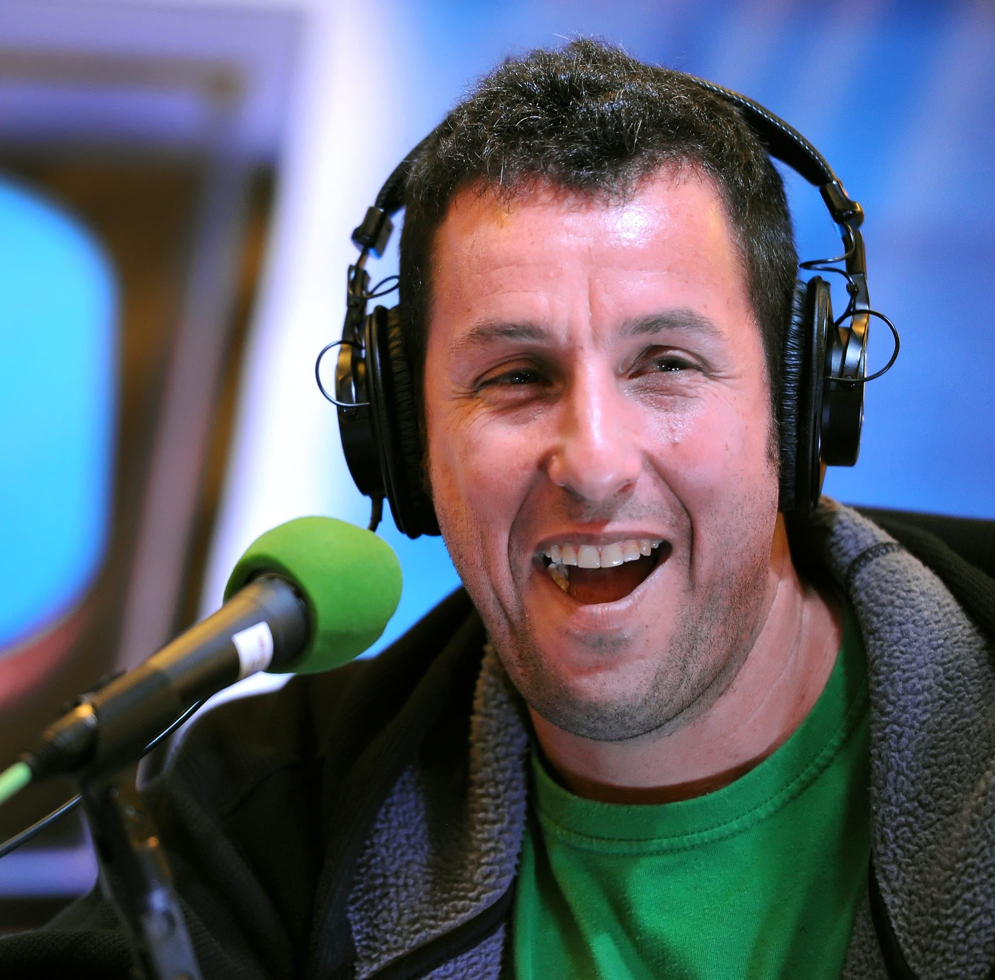 Adam Sandler received rave reviews for '100% Fresh.' Now he's bringing it to Ruoff.