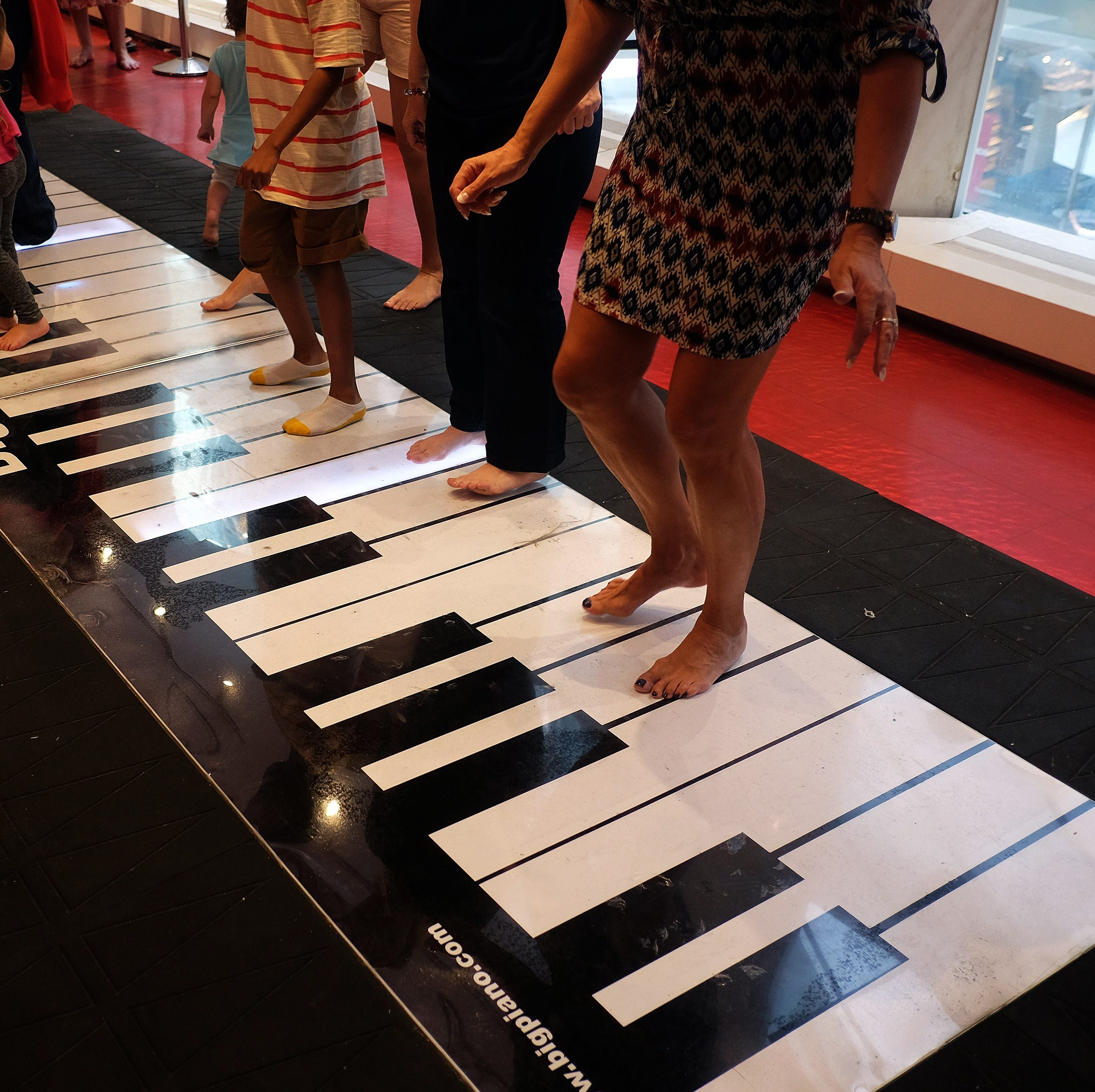 A piano like the one from 'Big' will be Downtown in these 3 places. Go play Chopsticks!