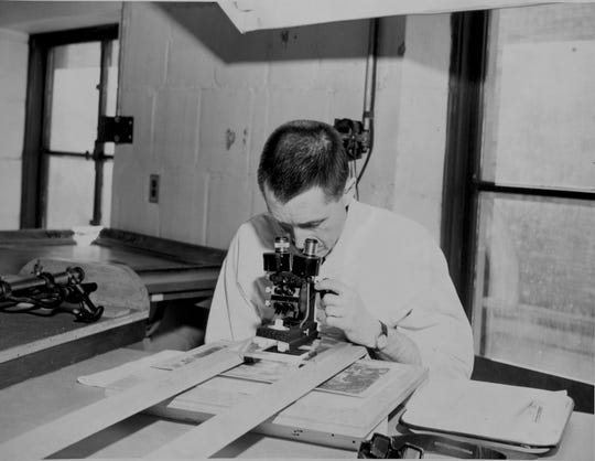As a conservator, George Stout (pictured) pioneered approaches to the preservation of art (Harvard Art Museums).