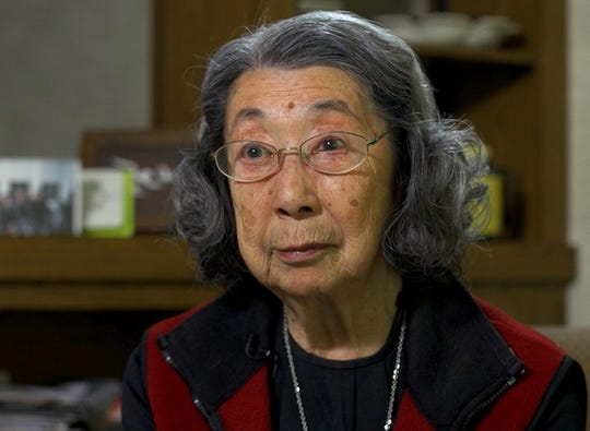 Motoko Huthwaite Fujishiro received a Congressional Gold Medal for her work with the Monuments Men post-WWII.
