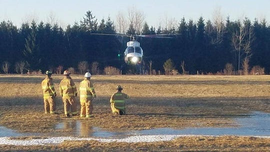 LifeNet airlifted Jill R. Ashley Williams to Upstate Medical Center.