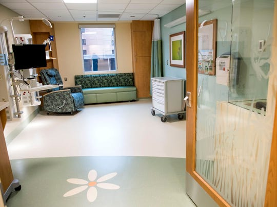 Inside a room in the new, more private NICU wing at UT Medical Center in Knoxville on Tuesday, March 26, 2019.