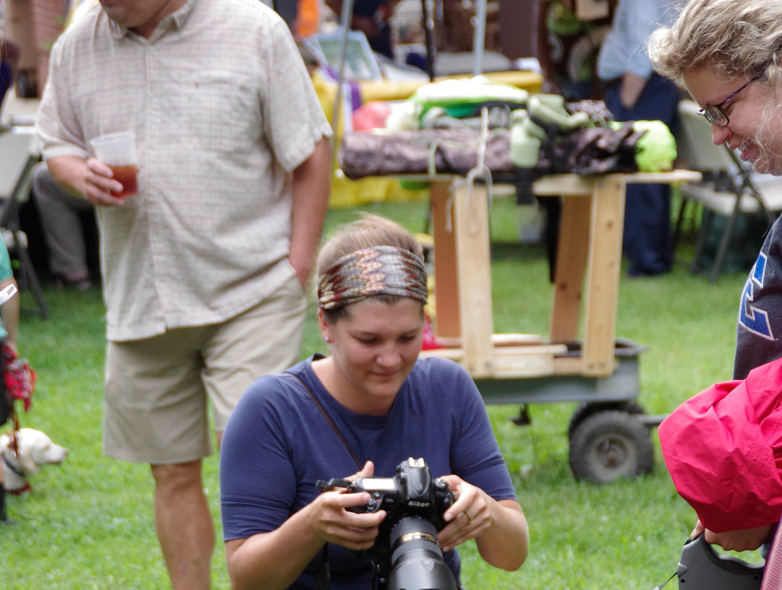 """News Sentinel photographer Jessica Tezak documents the """"History Hound"""" dog costume contest Saturday, Aug. 15,  2015, during the eighth annual East Tennessee History Fair."""