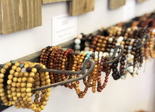 """I've learned the hard way to stay narrow and deep in the best sellers, while accenting with new things is key,"" said Diane Carter of her curated SNIG accessories. Fountain City, March 15."