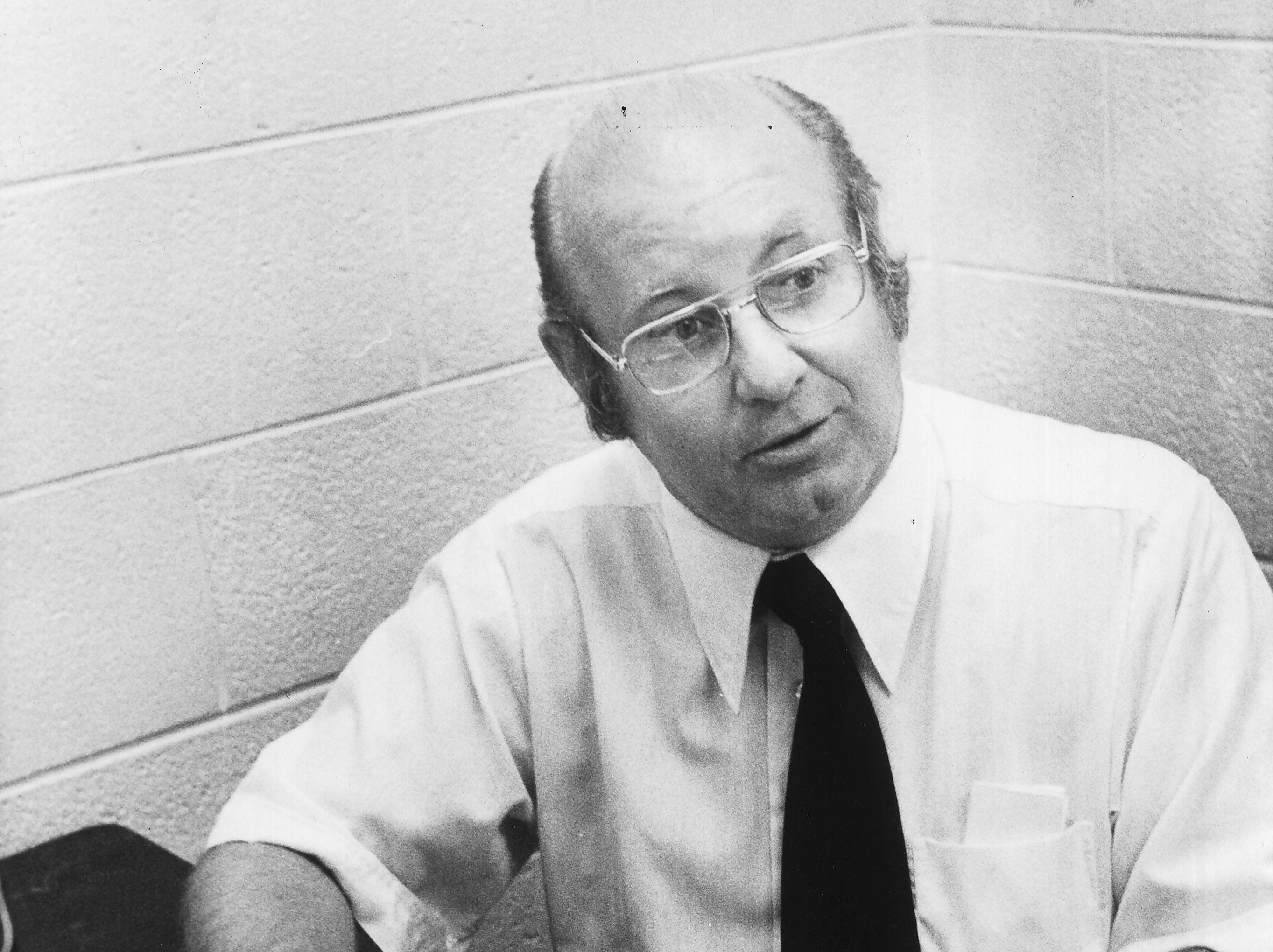 Marvin West, News Sentinel writer and editor, pictured Sept. 10, 1978.