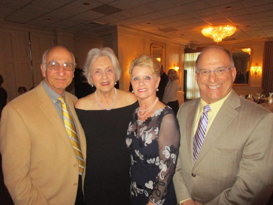 Fabian and Anne Patin, Judy Kennedy and Dennis Vitrella