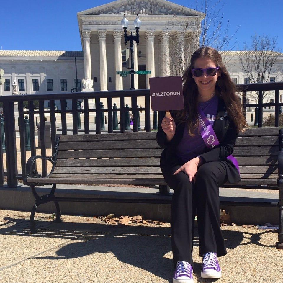 Brighton woman joins hundreds in D.C. to raise Alzheimer's awareness