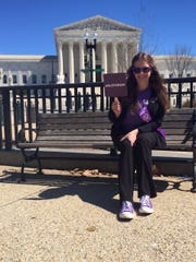 Lauren Kovach, 37, attended the Alzheimer's Impact Movement Advocacy Forum in spring 2018 as an ambassador for the Alzheimer's Association. She and her fellow ambassadors are seeking funding for the BOLD Act.