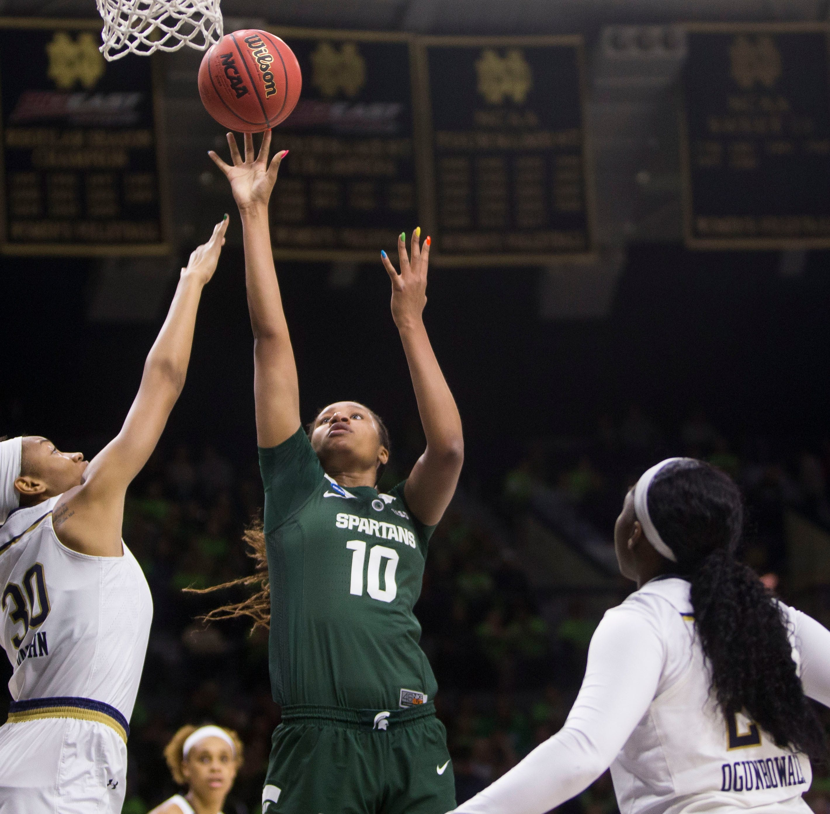 Sidney Cooks leaving Michigan State women's basketball program