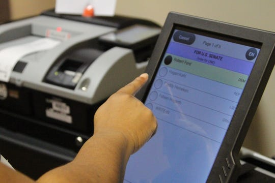 The Marion County Board of Elections received 200 new voting machines and 20 scanners this year that will replace the old voting equipment that was purchased by the county in 2005.